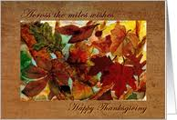across the thanksgiving cards from greeting card universe