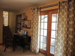 Window Treatments For French Doors In Kitchen Shades Blinds Patio - Family room curtains ideas