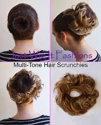 bun scrunchie multi tone elastic bun scrunchies scrunchy recital