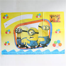 online get cheap minions stickers party aliexpress com alibaba