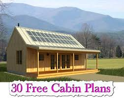 free small cabin plans small cabins to build free cabin plans small home plans for free
