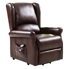 Lift Chair Recliner Brown Electric Lift Chair Recliner With Remote Arm