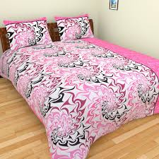 Throw Pillow Covers Online India Buy Spangle Premium Cotton King Size Designer Printed Gc Bed Sheet