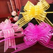 pull bows wholesale pull flower ribbon promotion shop for promotional pull flower