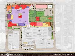 Springfield Map Springfield Redevelopment Authority Casino Information