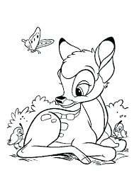articles bambi deer coloring pages tag bambi coloring pages