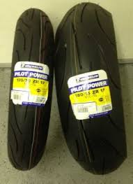 Pilot Power Motorcycle Tires New Michelin Pilot Power Motorcycle Tires Sz Front 120 70 R17 Rear