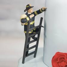 fireman wedding cake toppers to the rescue fireman wedding cake topper mix match