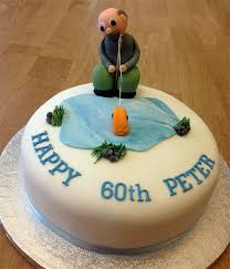 fish birthday cakes fishing birthday cake say it with flours