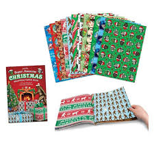 christmas wrap paper awesome christmas wrapping paper book accoutrements