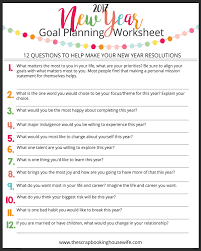 Life Planning Worksheet The Scrapbooking Housewife How To Make Your Goals Succeed