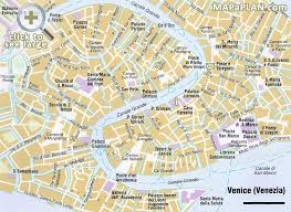 venice map venice map with tourist sights italy italia ツ