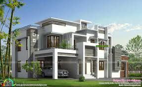 Box House Plans Box Model Contemporary House Kerala Home Design And Floor Plans