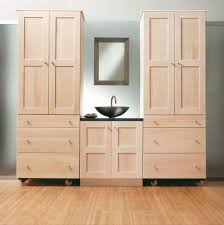 bathroom rustic wall cabinets on within in unfinished plan 6