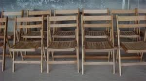 secondhand chairs and tables folding chairs ex hire wooden