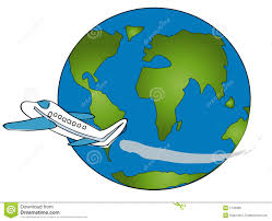 plane around the world 11637 clipart panda free clipart images