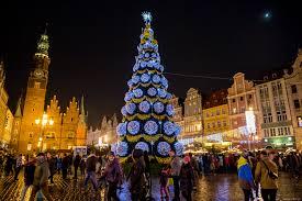 poland christmas tree christmas lights decoration
