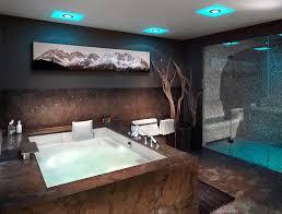 whirlpool im schlafzimmer badezimmer mit sauna und whirlpool attraktive auf moderne deko
