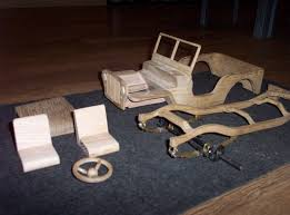 Making Wooden Toy Trucks by