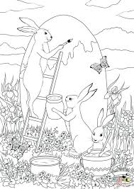 coloring pages bunnies color easter bunny coloring pages