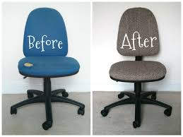 Upholstery Fabric For Chairs by Give Those Old Desk Chairs New Life 7 Steps With Pictures