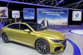 volkswagen arteon new 2018 vw arteon four door coupe is the cc u0027s more upscale