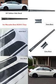 subaru side decal visit to buy gloss matte black amg edition c63 507 side stripe