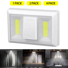 battery operated led lights for kitchen cabinets bright switch battery operated led lights cob led cordless light switch tap light utility wall wireless mount cabinet