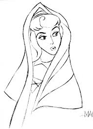 walt disney sketches princess aurora walt disney characters