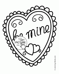 valentine splendie valentine hearts heart coloring pages