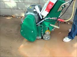 floor planer com ct320 specialised grooving concrete planer scabbler youtube