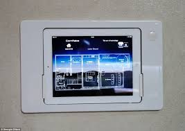 Screen Curtain Ipad London Property Is Kitted Out With Ipads In The Walls Remote