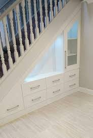 Kitchen Design With Basement Stairs Best 25 Stair Storage Ideas On Pinterest Staircase Storage