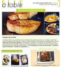 newsletter cuisine cuisine cl ique y cuisine nous a fait à l aise dans le