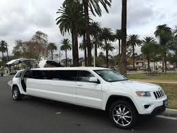 white jeep cherokee black rims 2015 white 140 inch jeep grand cherokee limo for sale 1422