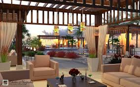Hotel Ideas by Roof Patio Garden Design Ideas On Mahakam Hotel 1833