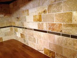 kitchen backsplash travertine tile travertine subway backsplash tile idea backsplashcom travertine