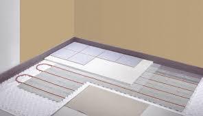 chauffage au sol ou plancher chauffant fonctionnement