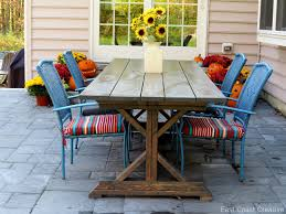 How To Build Patio Furniture How To Build An Outdoor Sectional Knock It Off East Coast