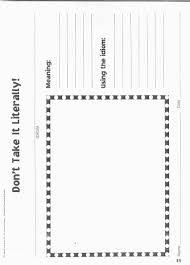 figurative language worksheet high worksheets
