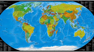 map of world world map desktop wallpaper