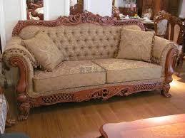 Wooden Sofa Sets For Living Room Latest Wooden Sofa Set Design Pictures Surripui Net