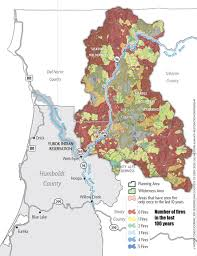 Fire Map Oregon by Good Fire Bad Fire News North Coast Journal