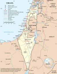 Map Of Al Large Detailed Map Of Israel