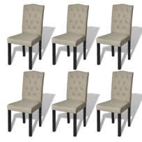 lot de 6 chaises salle à manger lot de 6 chaises achat lot de 6 chaises pas cher rue du commerce