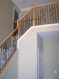 Wrought Iron Banister Single 24