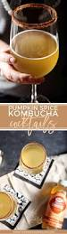 pumpkin spice kombucha cocktail the speckled palate
