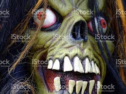 Scary Monsters Halloween Scary Monster Face Stock Photo 184976742 Istock