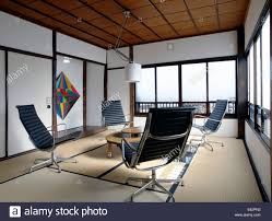 office interior with eames office chairs stock photo royalty free