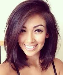 2015 lob hairstyles lovely short bob hairstyles that will flatter everyone flat iron